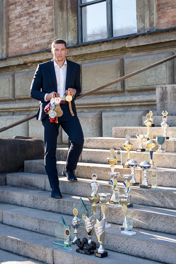 Armwrestling Weltmeister Dieter Spannagel