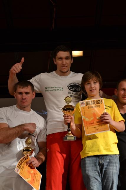 Dieter Spannagel Weltmeister Armwrestling