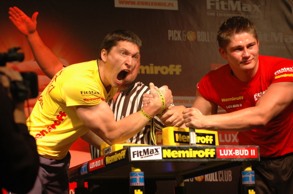Dieter Spannagel Armwrestling Germany
