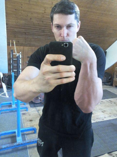Vorbereitung Armwrestling DM15